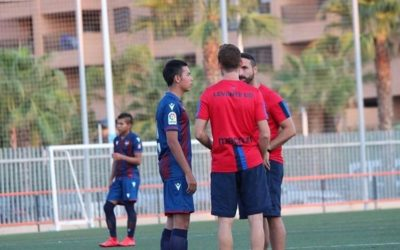FC Nomade U15 Player at Levante UD Summer Camp